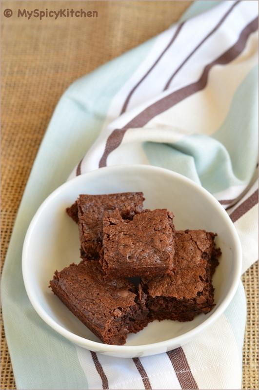 Brownies, Chocolate Chips Brownie, CCChallenge, Ultimate Chocolate Brownies