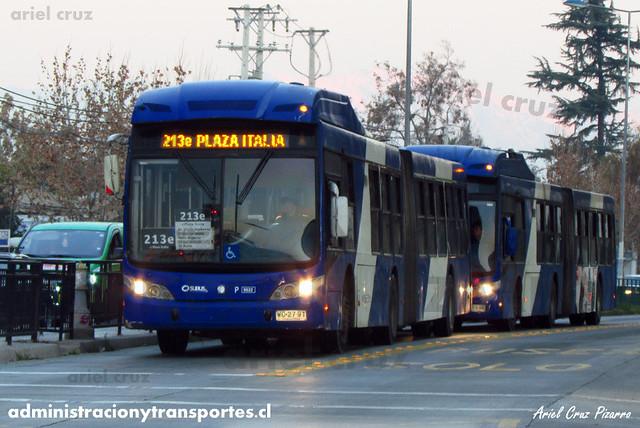 Transantiago - Subus Chile - Caio Mondego LA / Volvo (WC2791) (9522)