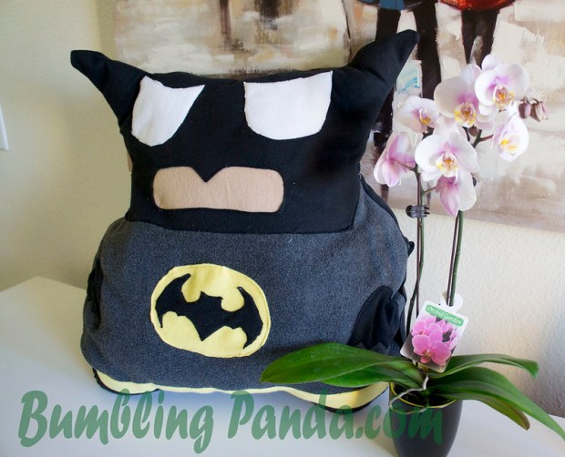 DIY Batman Pillow