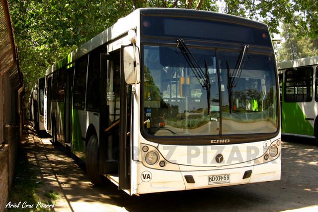 Transantiago - Metbus - Caio Mondego H / Mercedes Benz (BDXR59)