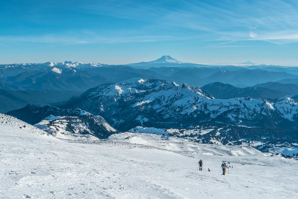 Mount Rainier Backcountry Skiing
