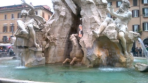 Fontana Dei Fiume y Piazza Navona