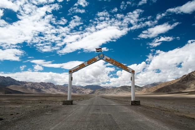 Welcome to Murghab, Pamir Highway, Tajikistan
