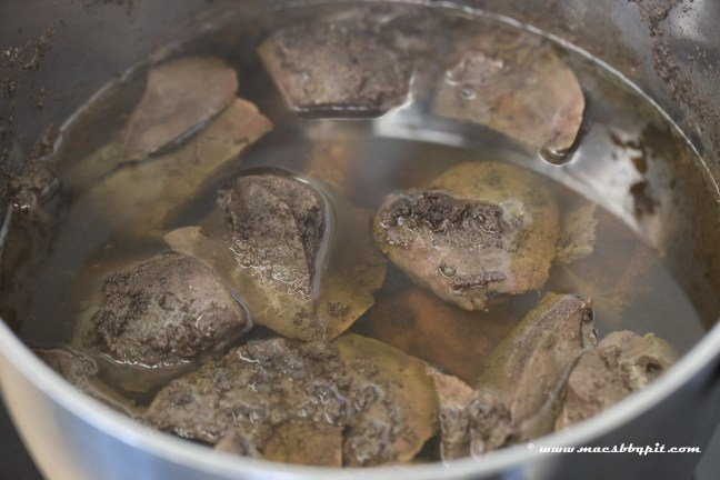 Zweedse ree haggis