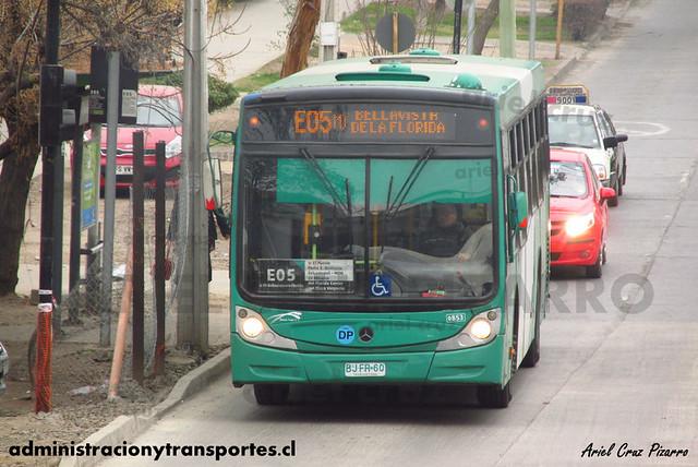 Transantiago - Buses Vule - Caio Mondego H / Mercedes Benz (BJFR60)