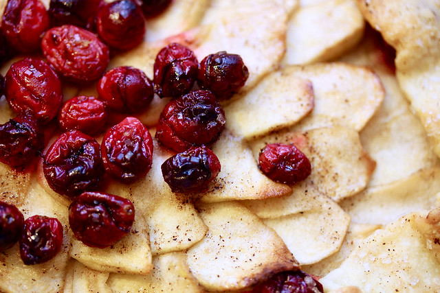 Apple Cranberry Galette - 28