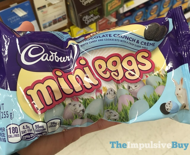 Cadbury Chocolate Crunch & Creme Mini Eggs