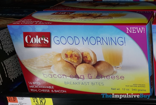 Cole's Good Morning! Bacon Egg & Cheese Breakfast Bites