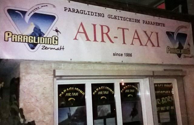 air taxi zermatt