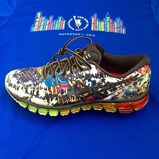 ASICS Gel Quantum NYC Marathon 2015