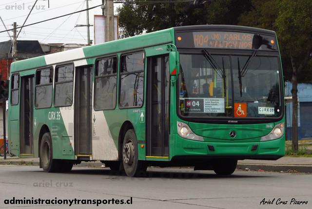 Transantiago - Buses Vule - Caio Mondego H / Mercedes Benz (CJRX35)
