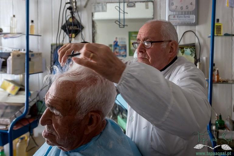 A Barbearia do Sr.º Reinaldo