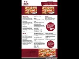 Vito's Menu