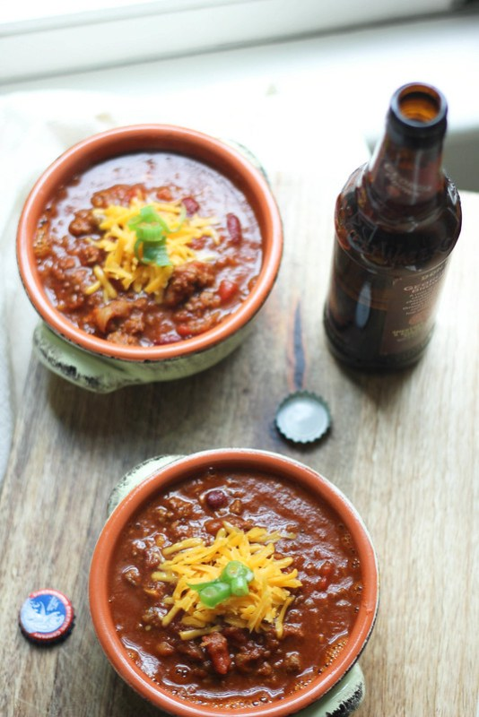 Andouille Red Bean Chili | Southern Soufflé