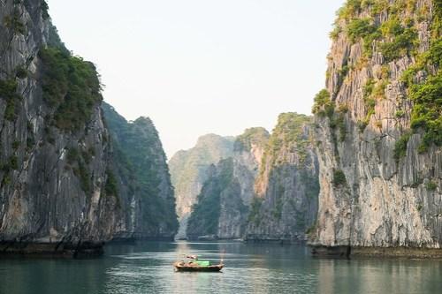 Karst. Lan Ha Bay