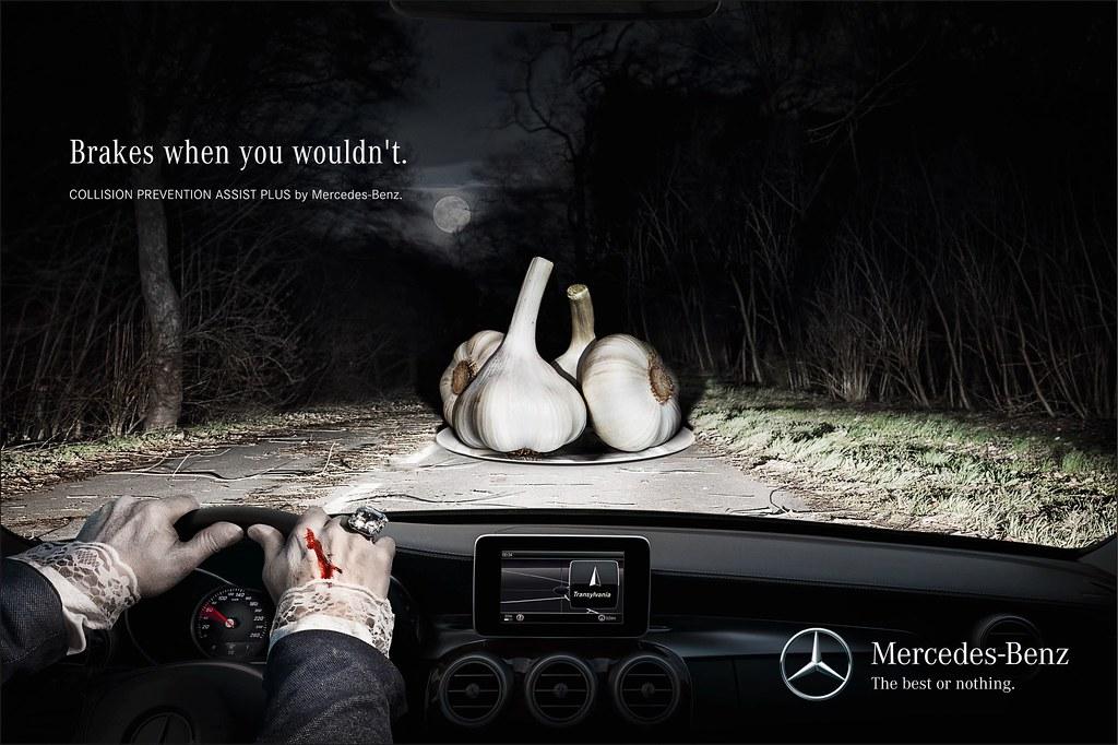 Mercedes Benz - Garlic
