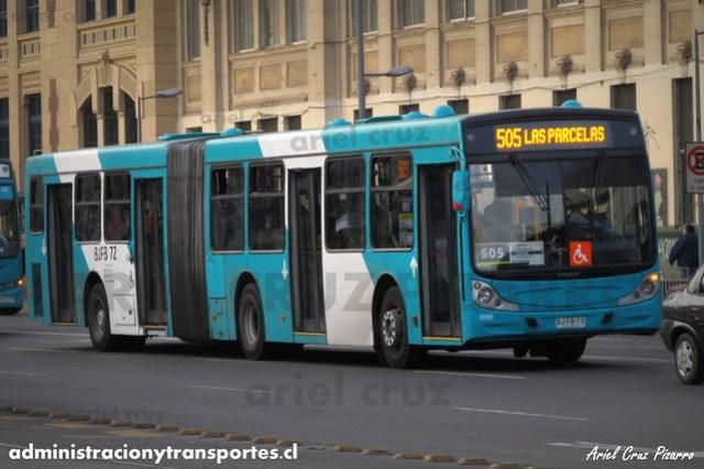 Transantiago - Metbus - Caio Mondego HA / Mercedes Benz (BJFB72)