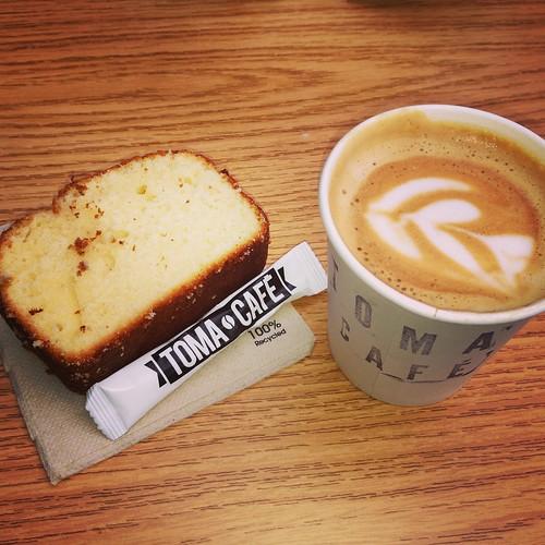 Toma Café, MadrET, AZCA. Madrid