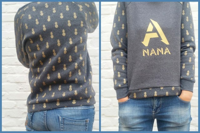 sweater a nana (collage)