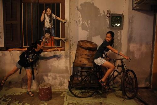 【2015大馬吉隆坡、檳城之旅】檳城喬治市的壁畫(11 ys)