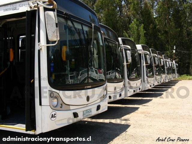 Transantiago - Metbus / Buses Metropolitana - Caio Mondego HA / Mercedes Benz (BJFH34)