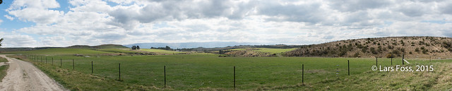 Panorama from Pukerangi