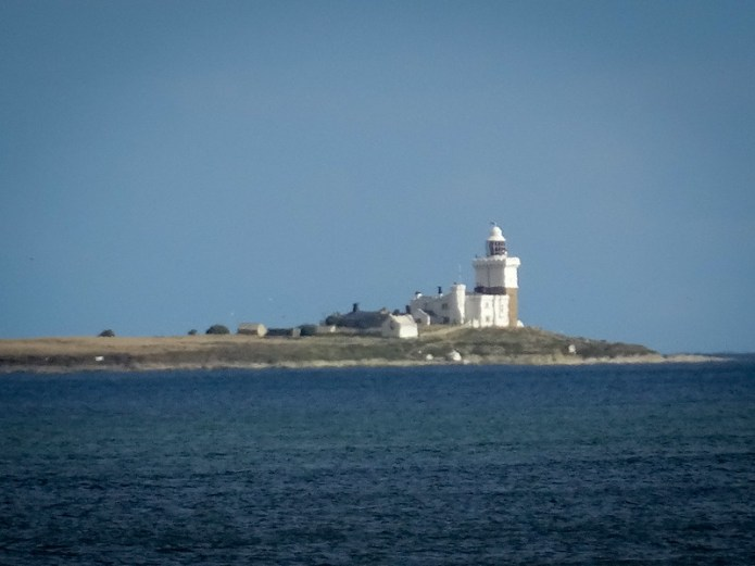 Inner Farne in the haze
