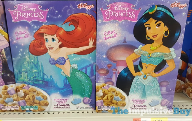 Kellogg's Disney Princess Cereal 2
