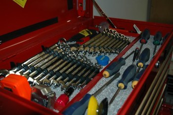 The Toolbox is Organized!