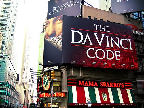 """Foto """"The Da Vinci Code ad"""" by vipeldo - flickr"""