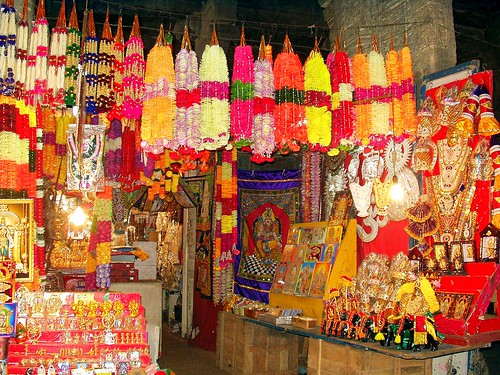 A Shop inside Temple