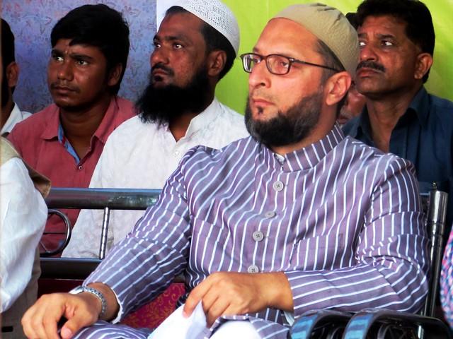 Asaduddin Owaisi in Bihar