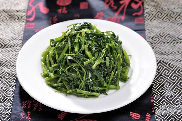 Stir-fried Chinese Kangkong