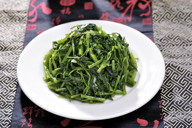 Stir-fried Chinese Kangkong