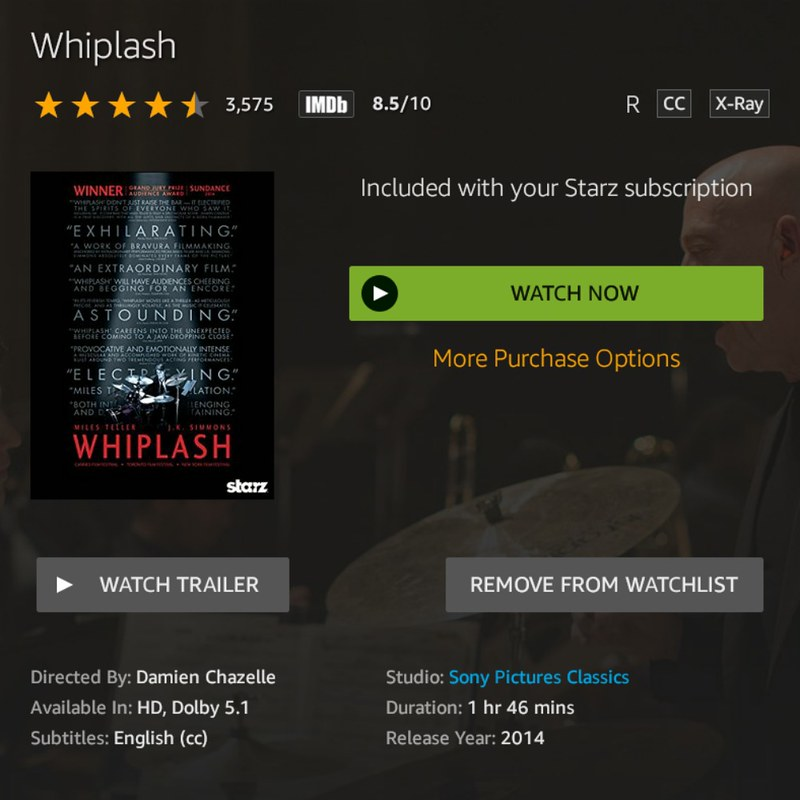 Whiplash 2014: 10 Great movies that you need to watch and celebrate New Year's Eve