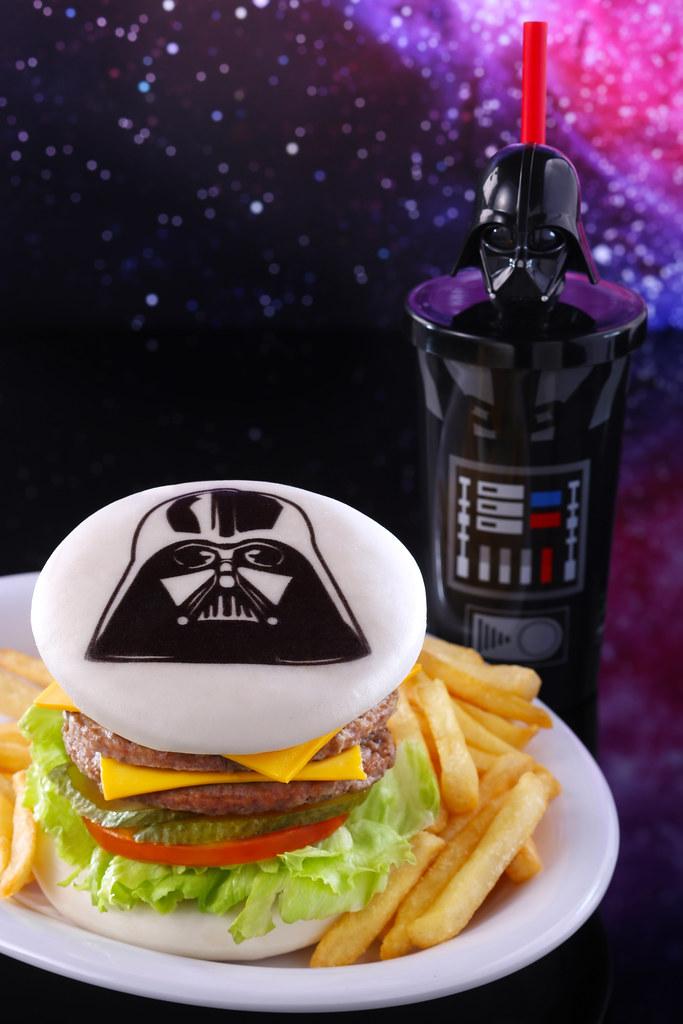 Starliner_Darth Vader Burger Combo with Tumbler