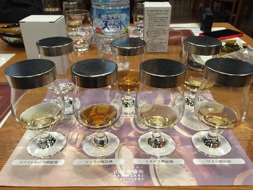 ニューポート、原酒4種と、山崎、山崎18年ですよ!