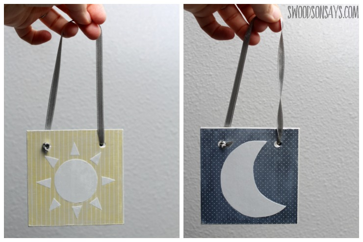 day and night sign diy