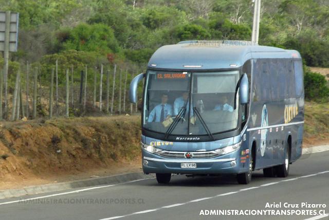 Ciktur - Pichidangui - Marcopolo Viaggio 1050 / Volvo (FLLV96)
