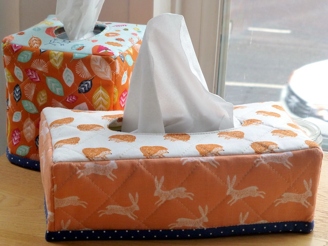 Tissue Box Covers in Issue 17 Quilt Now