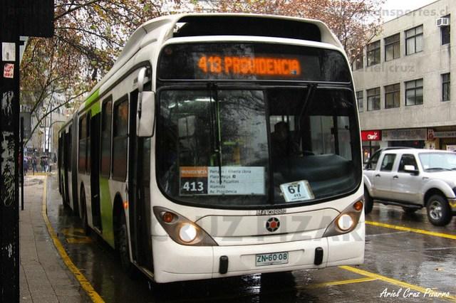 Transantiago - Express de Santiago Uno - Marcopolo Gran Viale / Volvo (ZN6008)