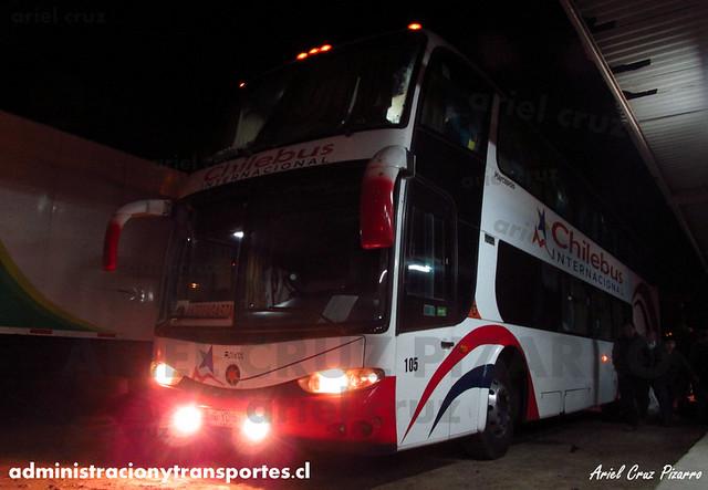 Chilebus Internacional - Aduana El Loa - Marcopolo Paradiso 1800 DD / Scania (BDYD57)