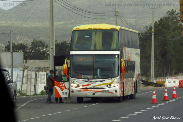 Atacama Vip - La Serena - Busscar Panorâmico DD / Volvo (BYXP72) (1914)