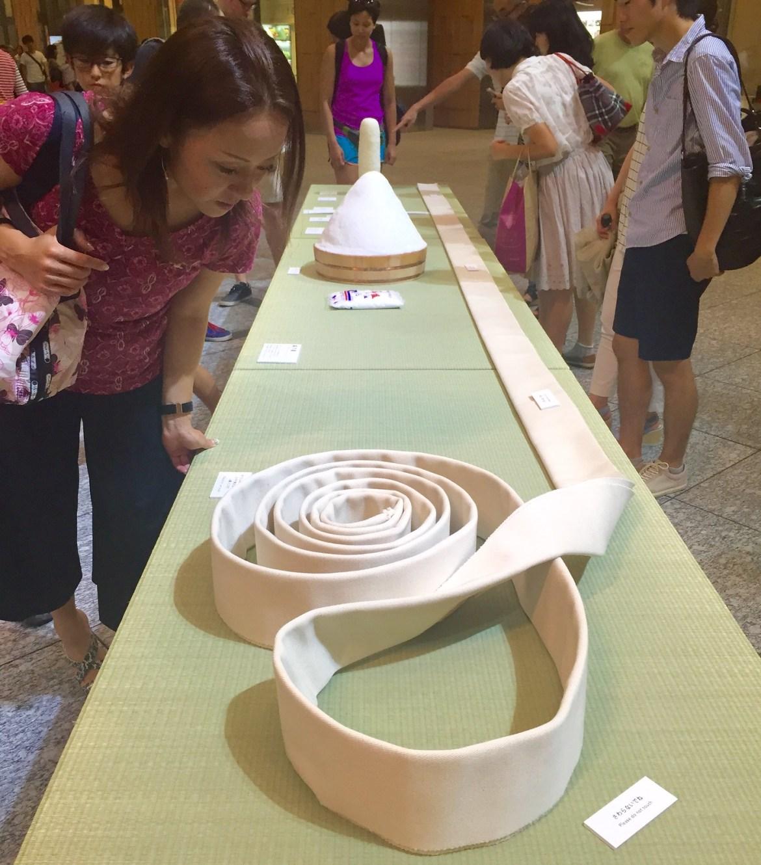 KITTE Sumo Exhibition