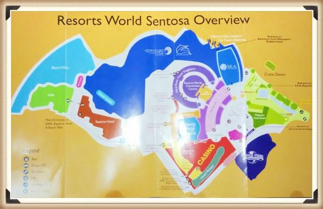 RWS Sentosa Map - travel.joogo.sg