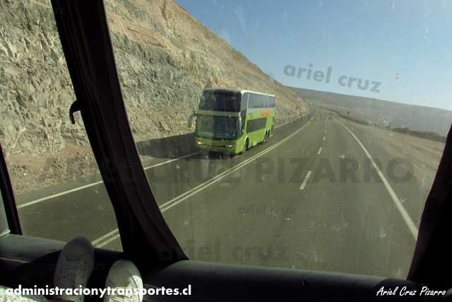 Tur Bus - Cuesta Camarones - Marcopolo Paradiso 1800 DD / Mercedes Benz (CFWB51) (2222)