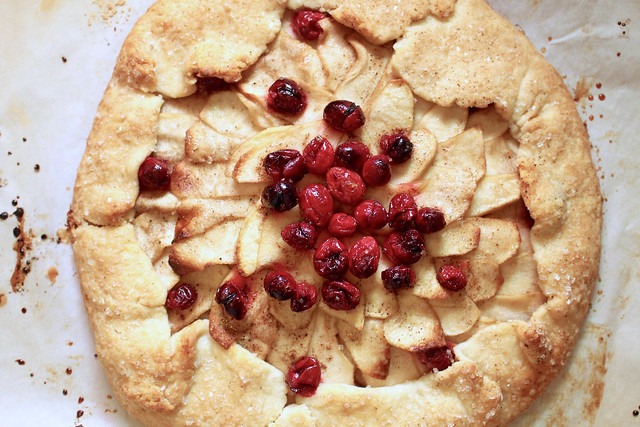 Apple Cranberry Galette - 21