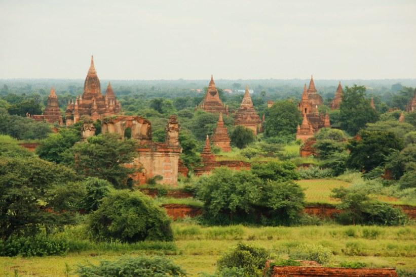 Seværdigheder i Bagan, Burma