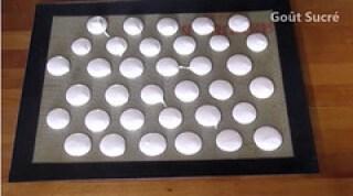 Recette de la pâte à macarons (meringue Italienne)