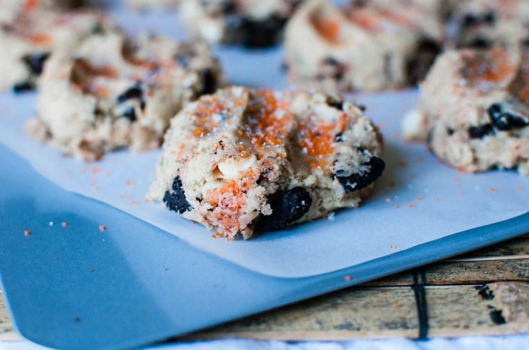 Loaded Cookies and Cream Halloween Cookies 5